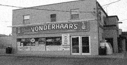 Vintage Vonderhaar's store