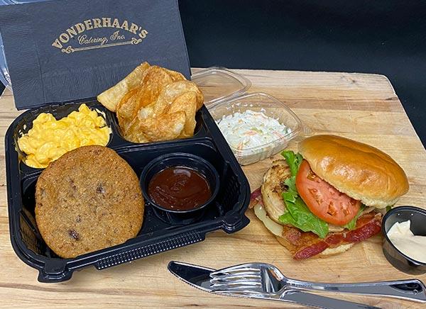 Vonderhaar's Chicken Club Sandwich Meal